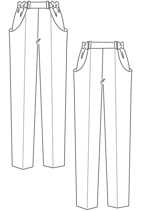 Pants Sewing Pattern How To Draft A Basic Pant Pattern Patterns Sewing Patterns. Pants Sewing Pattern Need A Sewing Pattern For Some Comfy Trousers Or Shorts.