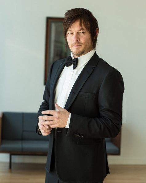 The names Jimmy... Jimmy Bond. What do you think Norman Reedus as the new Bond? Im starting that rumor right here. This is an outake from a GQ japan issue I shot last year. #normanreedus #gqjapan #shadishots