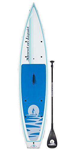 Stand On Liquid Chelan 12 Foot Touring Stand Up Paddle Board Sup Package Includes Standup Paddle Paddle Boarding Cargo Nets