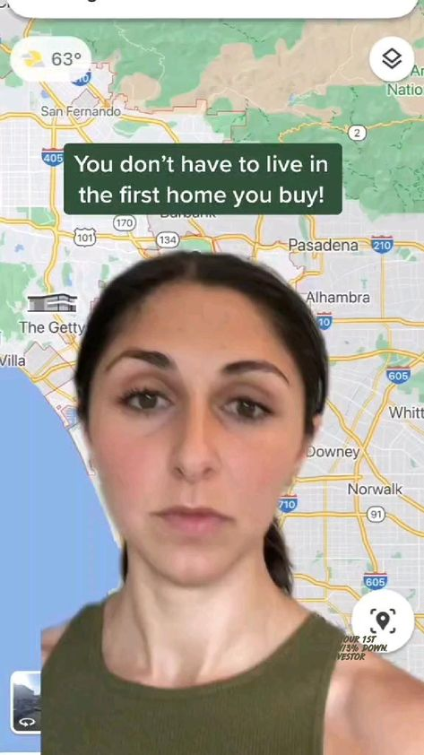 Buy your 1st Home w/3% down.  Investor
