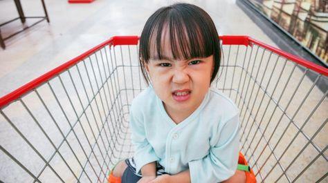 Calm Angry Child Tantrums Discipline Behavior