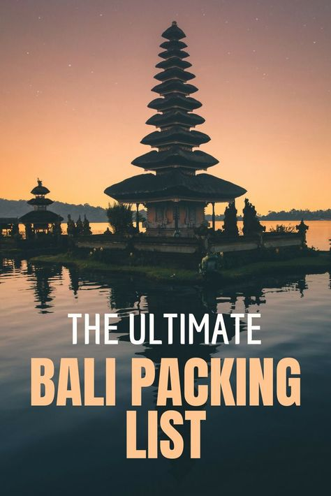 Are you counting down the days until your trip to Bali? You are probably spending hours on end adding and deleting items on your packing list... What the heck should your Bali packing list include? This list has everything from clothes, shoes, toiletries, electronics as well as what you can leave at home! #BaliPackingList #PackingTips #PackingList #SoutheastAsiaTravel