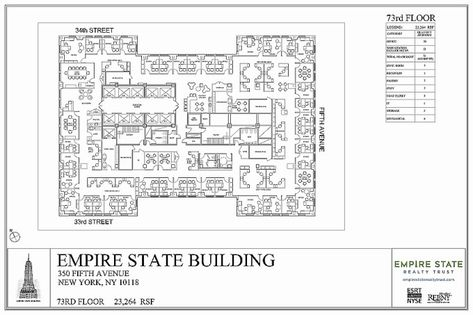 Empire State Building Floor Layout Empire State Floor Layout Empire State Building