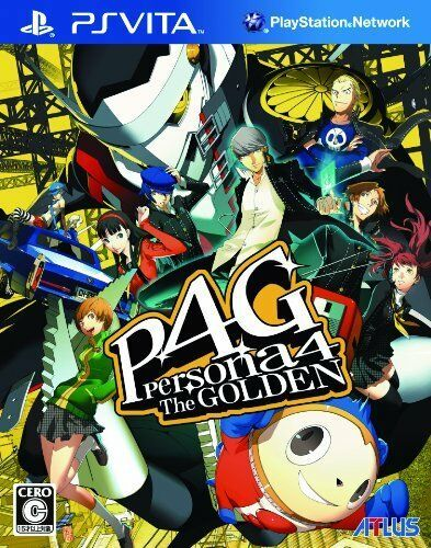 Playstation Vita Ps Psv Psvita Persona 4 The Golden P4g Atlus