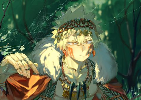 Fantasy version Bakugo by Taro-K on DeviantArt