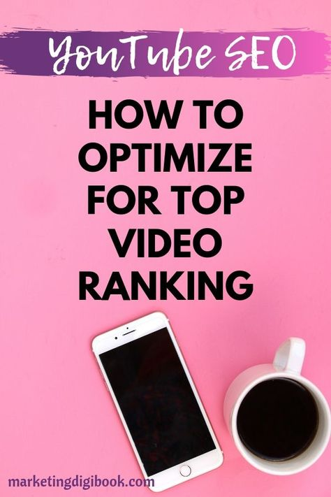 YouTube SEO for Beginners - How to Improve Your Video Ranking