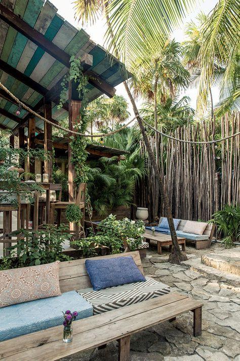 garden in tulum ... Nos adresses à Tulum, Caraïbes |MilK decoration