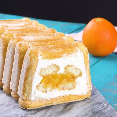 Oranges - Tiramisu  - Desserts - Nachtisch - Nachspeise - #desserts #Nachspeise #Nachtisch #Oranges #Tiramisu
