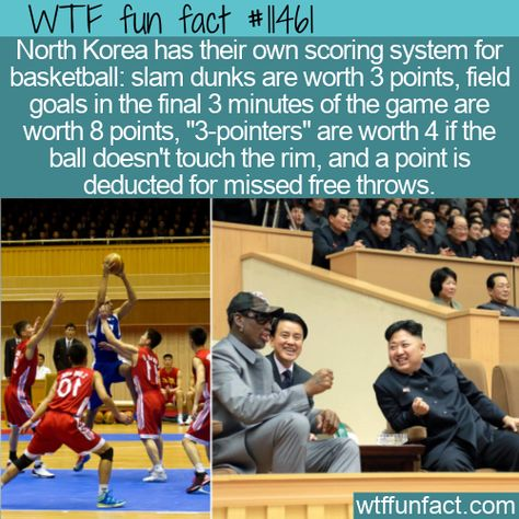 WTF Facts : funny, interesting  weird facts WTF Fun Fact - North Korean Basketball Scoring System #wtf #funfact #wtffunfact 11461 #basketball #funnyfacts #northkorea #Places #randomfact #randomfacts #randomfunnyfact #scoringsystem #Sports #wtffunfact