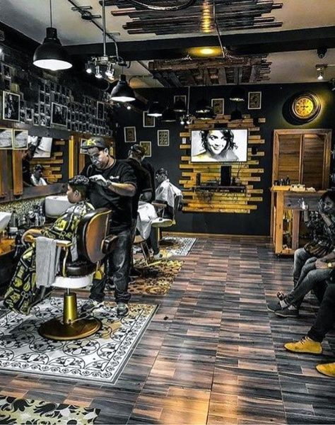 Top 80 Best Barber Shop Design Ideas Manly Interior Decor