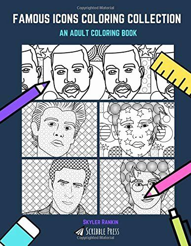 Ryan Gosling Coloring Book Luxury Famous Icons Coloring Collection Kanye Bieber Shawn Coloring Books Toddler Coloring Book Ryan Gosling