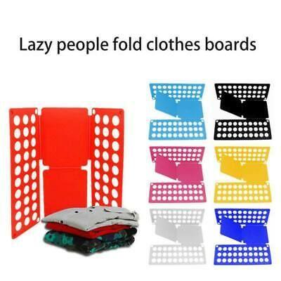 Clothes T-Shirt Folder Magic Folding Board Flip Fold Adult Kid Laundry Organizer #fashion #home #garden #householdsuppliescleaning #laundrysupplies (ebay link)