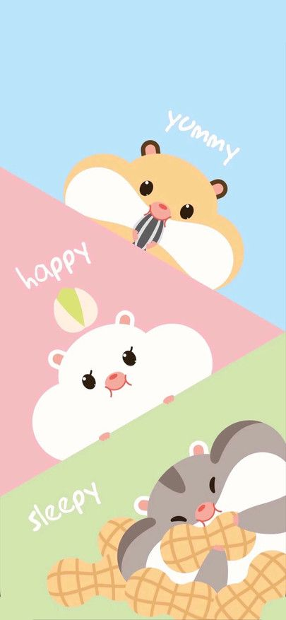 Cute Cartoon Hamster Squirrel Happy Yummy Wallpapers For Iphone11 Iphone11 Pro Iphone 11 Hamster Wallpaper Wallpaper Iphone Cute Cute Wallpapers For Ipad