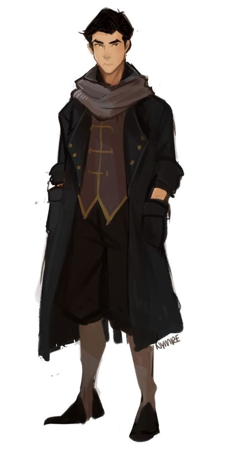 mako in his old character design + his new hair looks like a fashion model