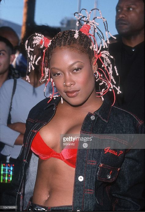 Da Brat during The 1 Da Brat during The 1999 Source Hip-Hop Music Awards at The Pantages Theatre in Los Angeles California United States.