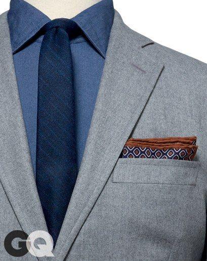 Blue Check Pocket Square.Blue Cotton Pocket Square.Suit Accessories.Presents.Sets