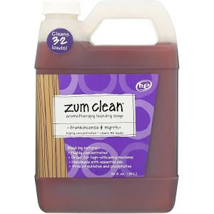 Zum Clean Laundry Soap Aromatherapy He Frankincense Myrrh