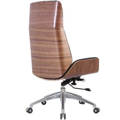 Milan Direct Black Walnut Jackson Plywood Executive Office Chair Reviews Temple Webster Chair Office Chair Eames Office Chair