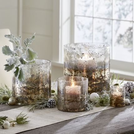 Dining Room Table Centerpiece Ideas Stonegable Glass Hurricane