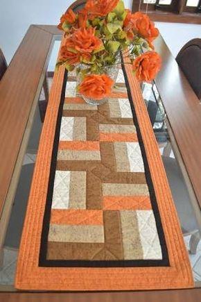 Resultado de imagem para centro de mesa patchwork | Caminos