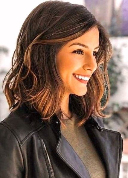 30 Atemberaubende Schulterlange Haarschnitte Haarschnitt Schulterlange Haarschnitte Frisur Ideen