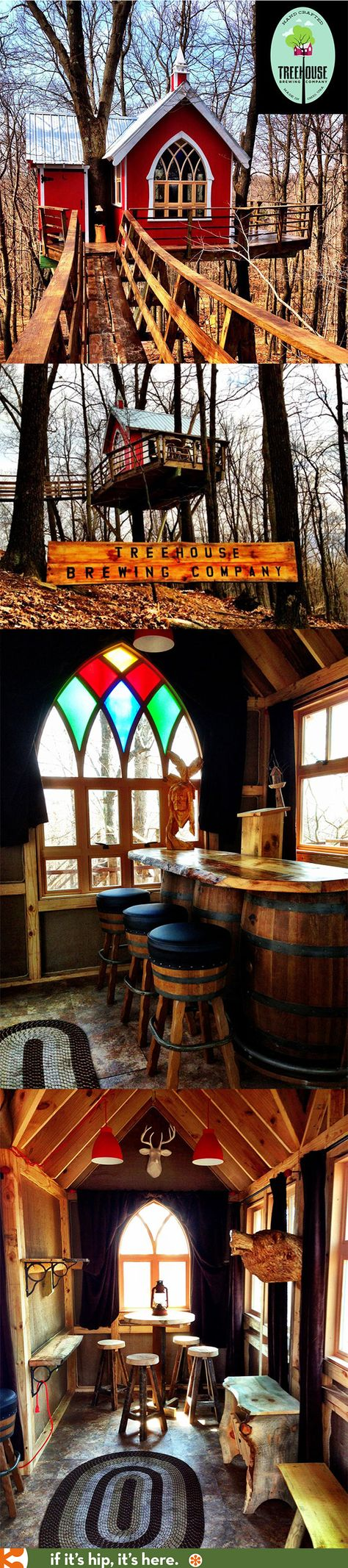 It's A Tree House. It's A Brewery. It's The Treehouse Brewing Company!