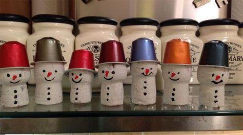Lavoretti Di Natale Con I Tappi Di Sughero.Lavoretti Di Natale Con Tappi Di Sughero 15 Semplici Idee