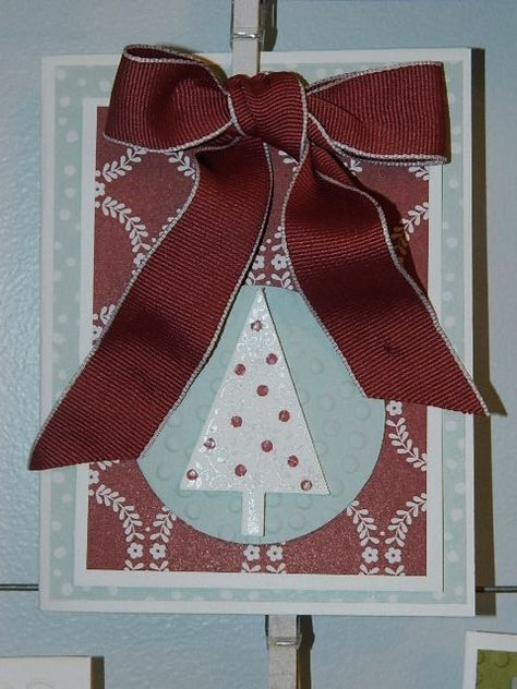 Festival of Trees, Tree Punch, Christmas, Stampin' UP!
