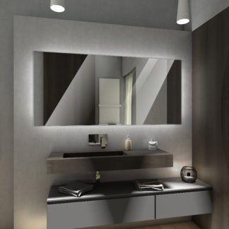 Koupelnove Zrcadlo S Led Osvetlenim 163x85 Cm Dubai Koupelnove Zrcadlo Moderni Koupelny Zrcadlo