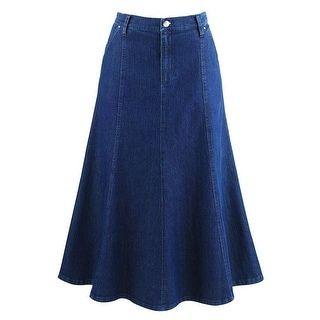 Denim Riding Skirt at Catalog Classics