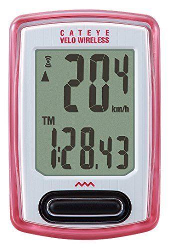 Cat Eye Velo Wireless Bike Computer Pink For Sale Wireless