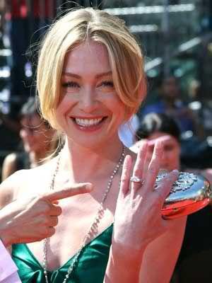Portia De Rossi Engagement Ring Celebrity Rings Pinterest