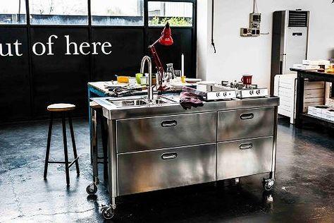 55 best Alpes-Inox Küchenmodule images on Pinterest Alps - edelstahl küchenmöbel gebraucht
