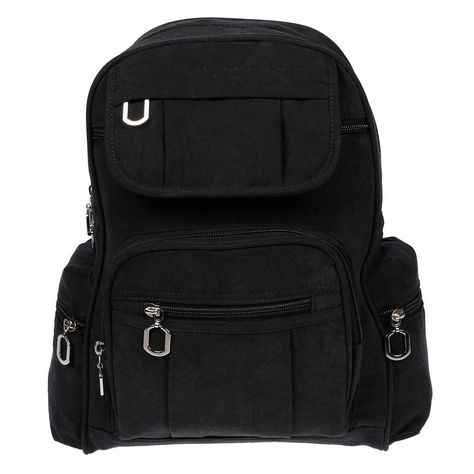 4cce9a29548c0 DAMEN RUCKSACK Nieten Daypack Cityrucksack Schulter-Hand-Tasche Leder Optik  pu  EUR 29