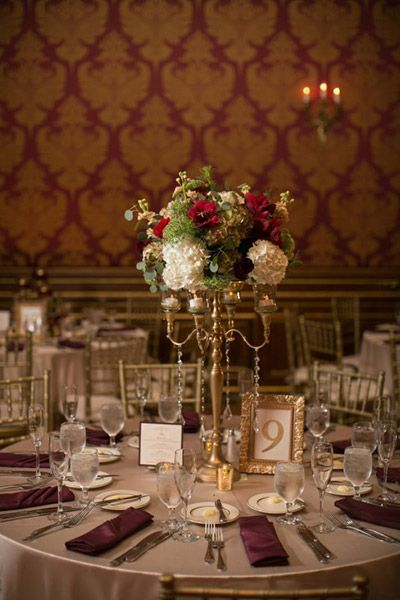 My photo album centrepieces red wedding flowers and wedding junglespirit Image collections