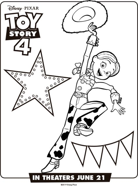 Dibujos Para Colorear E Imprimir De Toy Story 4 Toy Story 4 Dibujos