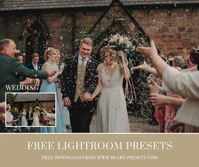 free wedding presets # 38