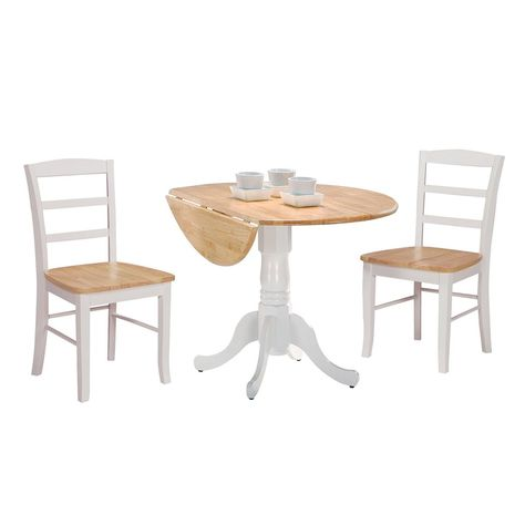 Natural Wood Finish Dining Table