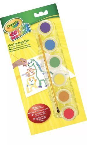 Paint Sets 134569 Lot Of 12 Crayola Color Wonder Gel Paints 6