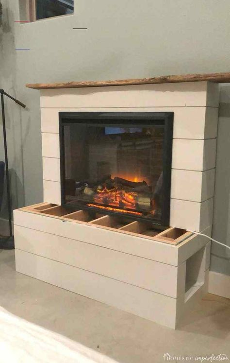 Most current Snap Shots Electric Fireplace mantle Suggestions  DIY Electric Fireplace :  DIY electric fireplace – This fireplace insert is a great price, puts o #current #electric #Fireplace #Mantle #Shots #Snap #Suggestions<br>