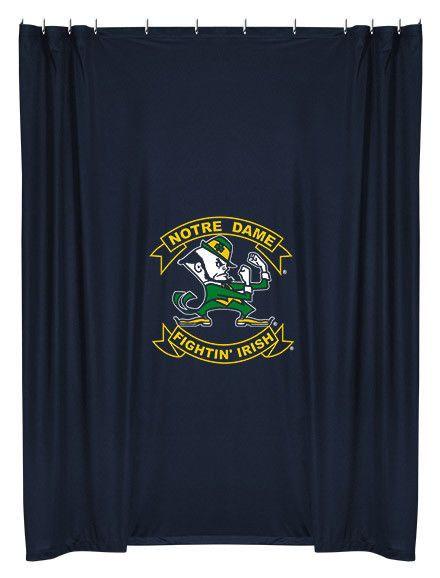 Notre Dame Fighting Irish Ncaa Shower Curtain Sportscoverage