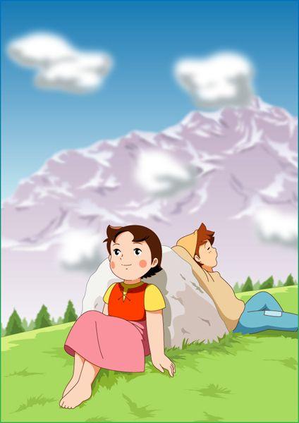 اضغط على الصورة لرؤيتها بحجمها الطبيعي Heidi Cartoon Old Cartoons Popeye Cartoon