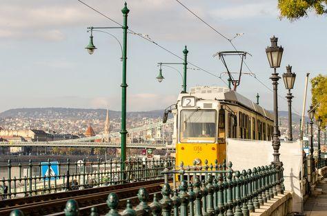 Трамвай в Будапеште