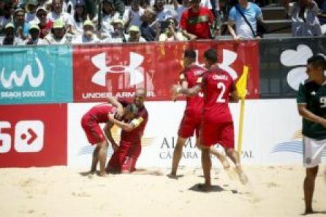 A Selecao Portuguesa Venceu Hoje O Torneio De Futebol De Praia Dos Ii Jogos Europeus Em Minsk Ao Derro Futebol De Praia Selecao Portuguesa De Futebol Futebol