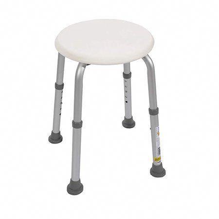 Essential Medical Supply Bath And Shower Stool With Adjustable Legs White Medicalequipmentorganization In 2020 Duschhocker