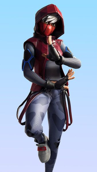 Fortnite X Facet Season 10 Skin Outfit 4k Click Image