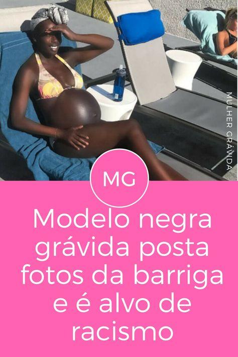 Postou A Foto Da Barriga E Virou Alvo De Comentarios Racistas Com