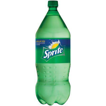 Sprite Lemon Lime Soda Soft Drink 2 Liters Walmart Com In 2021 Sprite Lemon Lime Soda Soda