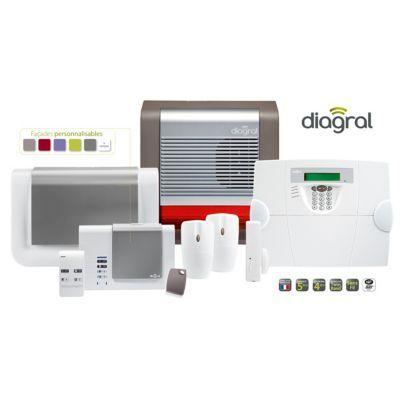 Kit Alarme Gsm Pour Maison Avec Animaux Diag19asf Diagral En 2020 Alarme Maison Sans Fil Maison Et Merlin