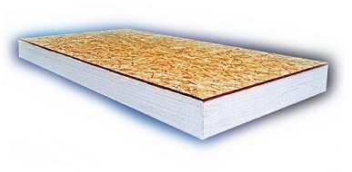 Insullam Foam Insulation Board 2 In With 1 2 In Osb Insullam Eps Composite Insulation Insulation Board Foam Insulation Board Structural Insulated Panels